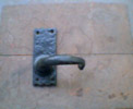 Wessex Suite Lever Latch Big Plate